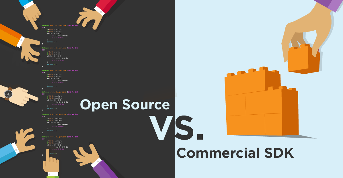 Open source vs commercial SDK