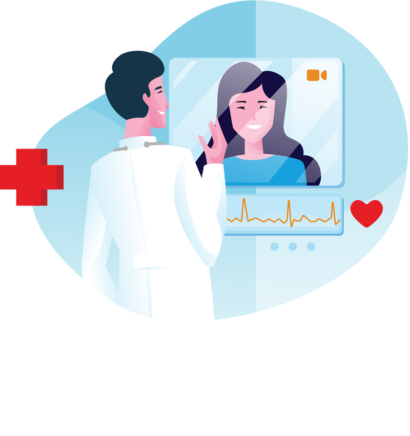 Custom Telehealth Voice and Video Software Application