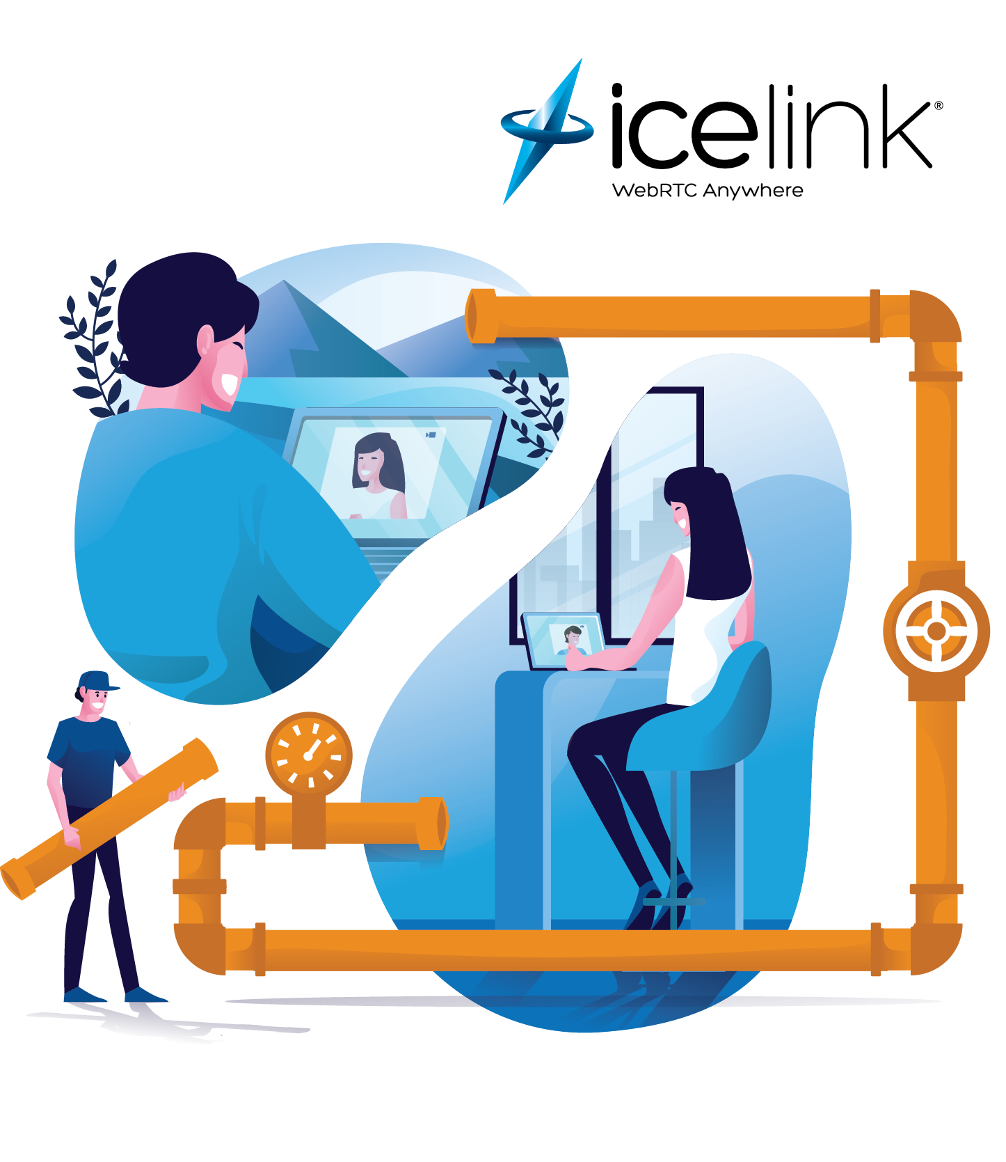 IceLink Flexible Video SDK for Small Conferences