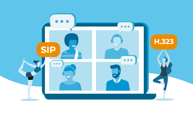 SIP H323 Configurations with WebRTC Solutions