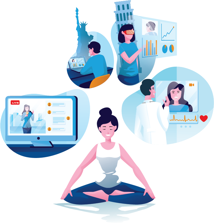 Limitless Video, Voice, and Messaging SDK for all industries
