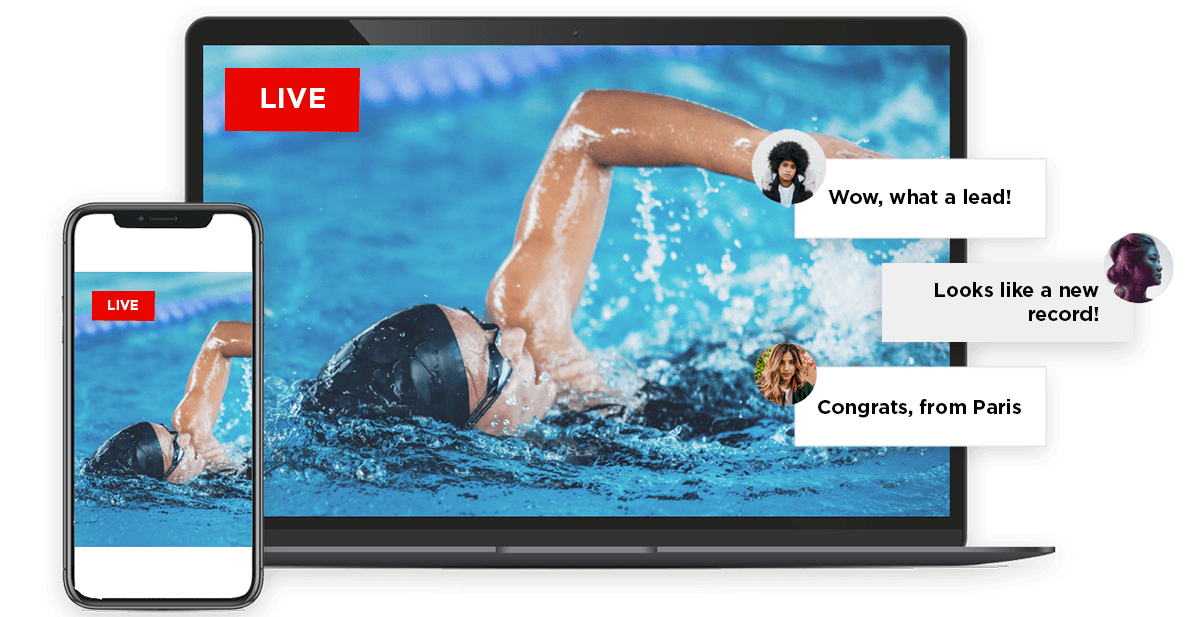 Real-Time Audience Engagement Video Platform